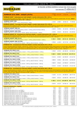 Ceník HUMBAUR 2014 - série 3000 úprava KB.pdf