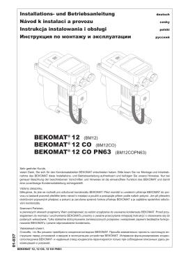 bekomat® 12 co pn63