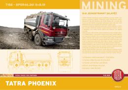 TATRA PHOENIX 8x8 - MINING