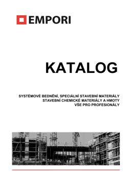 KATALOG - EMPORI sro