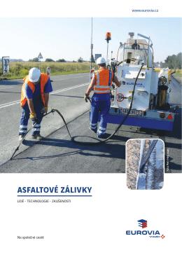 asfaltové zálivky