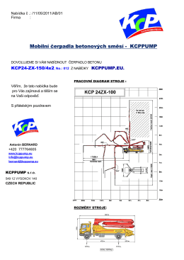 KCPPUMP - Beton Server