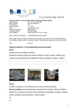 1 VY_52_INOVACE_ZB04_3364TVR Výukový materiál č. 33
