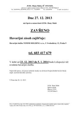 Bytové družstvo Formánkova, IČ 25638734,