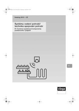 Systémy vedení potrubí/ technika spojování potrubí