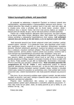 KCHJ ČR - Stránky dlouhosrstých jezevčíků