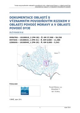 DYJ-24 Brno - Zveřejněné návrhy plánů povodí a plánů