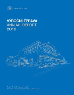 Výroční zpráva 2012 - Annual Report 2012