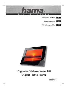 Digitaler Bilderrahmen, 8.0 Digital Photo Frame