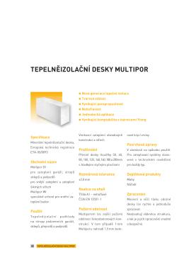 Katalog Ytong Multipor DI
