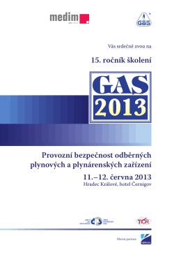 11.–12. června 2013 15. ročník školení Provozní