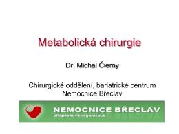 Metabolická chirurgie - zdravi