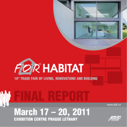 FINAL REPORT - For Habitat