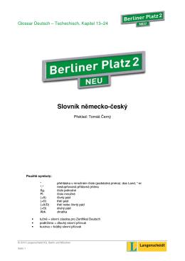Slovník německo-český