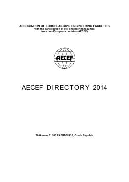 AECEF DIRECTORY 2014