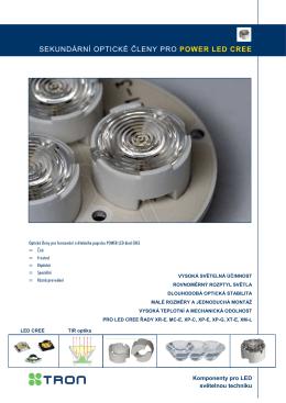 LED optické členy