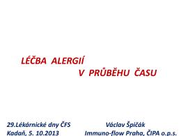 prof.Špičák - Lékárnické dny