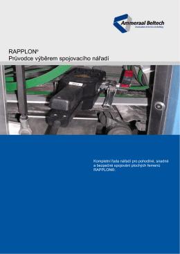 RAPPLON Průvodce výběrem spojovacího nářadí