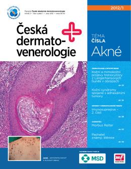 Česká dermato- venerologie