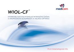 První bioanalogická IOL