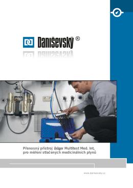 Přenosný přístroj Multitest Med. Int, pro měření