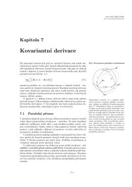 Kovariantní derivace
