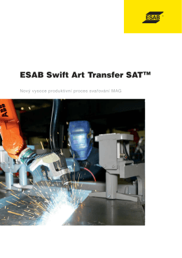 ESAB Swift Art Transfer SAT