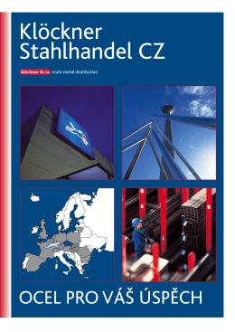 Klöckner Stahlhandel CZ