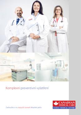 Komplexní preventivní vyšetření