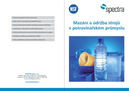 brožuru - SPECTRA spol. s ro