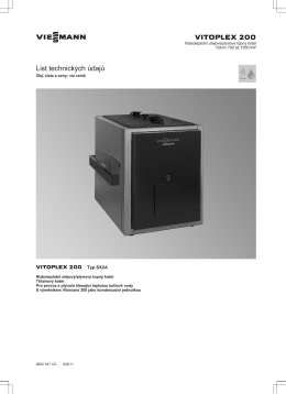 Vitoplex 200, 700 až 1950 kW522 KB