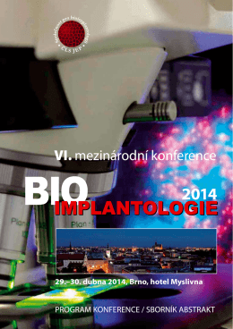 program - bioimplantologie 2014