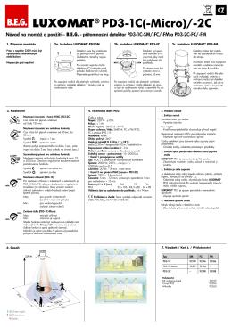 LUXOMAT® PD3-1C(-Micro)/-2C