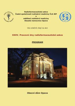 program - Česká společnost nukleární medicíny