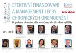 Pozvánka na seminář Efektivní financování a management
