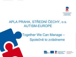 O Autism Europe a projektu TWCM