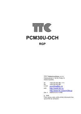 PCM30U-OCH RGP