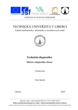 P8_vibrace _ESF.pdf - Technická univerzita v Liberci