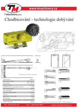 MB 330 MONO - CHODBICOVÁNÍ