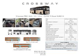 Crossway PRO 10,8 / 12 / 13 m – Cursor 9 Diesel