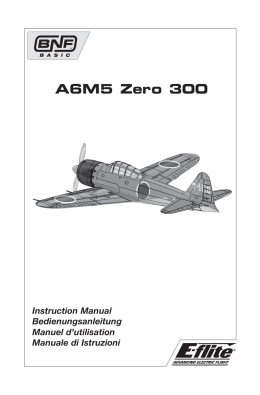 31020 EFL A6M5 Zero 300 manual.indb