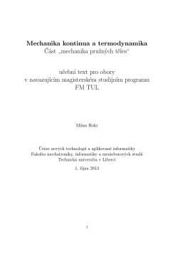 Učební text k přednáškám PDF - Ústav nových technologií a