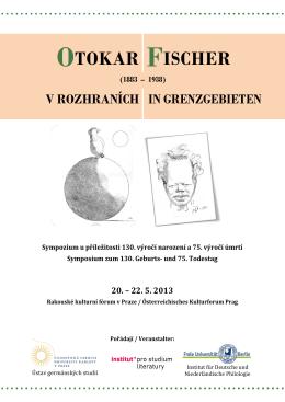 OTOKAR FISCHER - Institut pro studium literatury