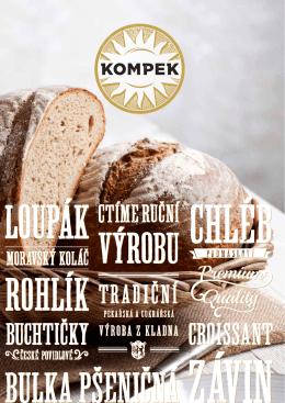 Katalog běžného a jemného pečiva
