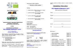 Pozvánka na konferenci ve formátu PDF