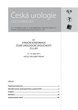 Celý článek - Česká Urologie