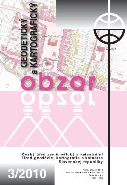 Článek - Český úřad zeměměřický a katastrální
