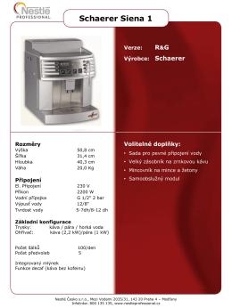 Technologie na zrno - Nestle Professional