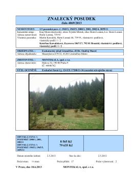 118 2013 pol pozemků Horní Lomná Kawulová