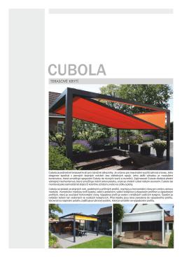 Prospekt terasové krytí CUBOLA